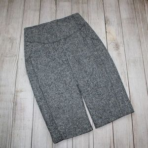 EXPRESS Size 0 Gray Tweed Pencil Skirt